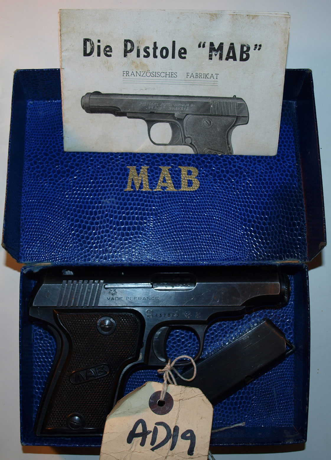 MAB Model C in box as sold(AD19) EU Spec Deac'