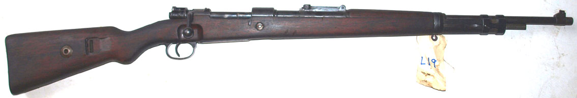Mauser K98 dated 1937 (L19)