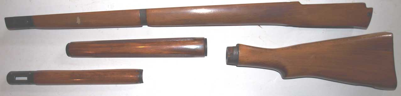 Lee Enfield No4 woodwork set
