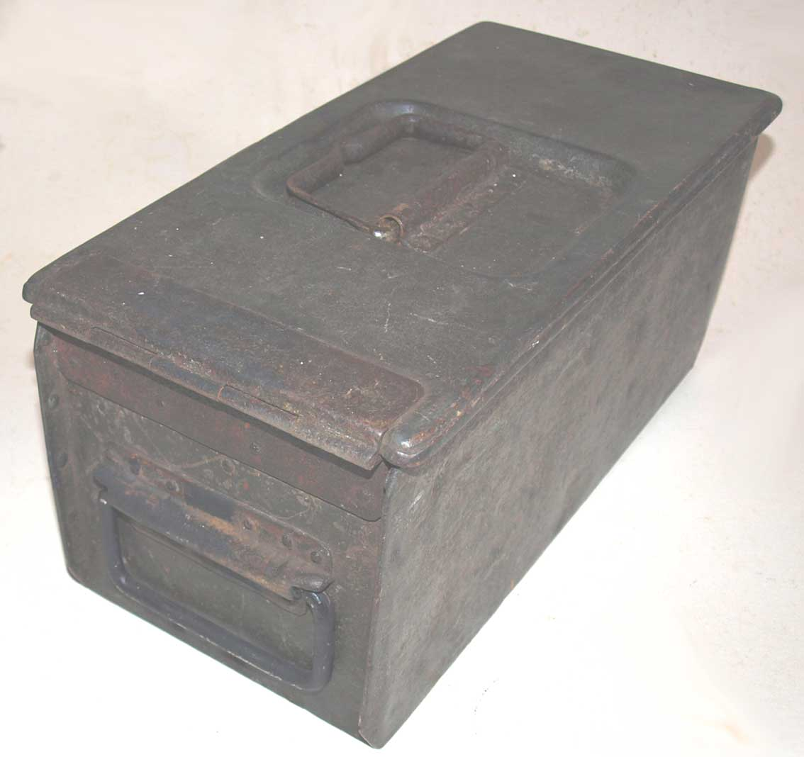 MG08 WW1 Double Ammunition Belt Box. PRICE REDUCED! was £145