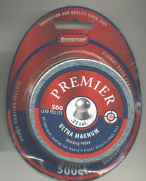 Crosman .22 Calibre  Premier Ultra Magnum (formerly Accupel) Pellet £14.99