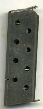 scarce FN Browning M1900 magazine 7.65mm (Late 8 hole)