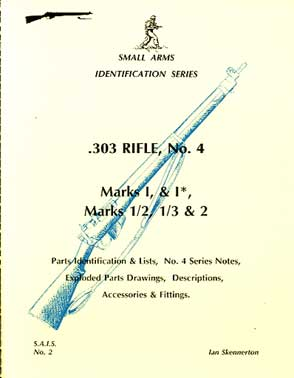 .303 rifle No 4 Marks 1 & 1*, Marks 1/2, 1/3, & 2  (SAID No2)