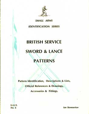 British Service Sword & Lance Patterns  (SAID NO6)