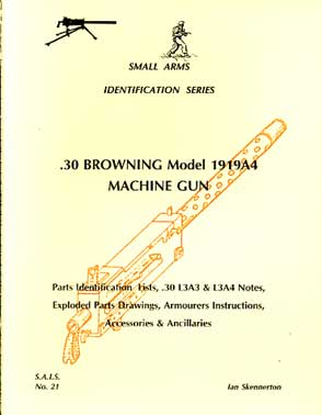 .30 Browning model 1914A4 Machine Gun (SAID No21)