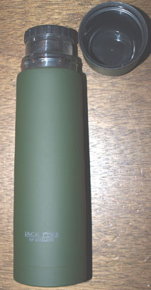 Steel flask 480ml capacity