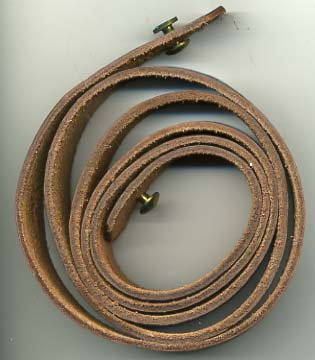 M3 Grease Gun sling, leather
