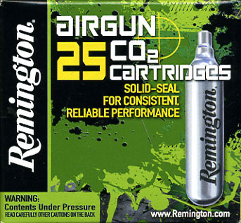 Remington CO2 12Gm Capsule 25 Pack £17.50