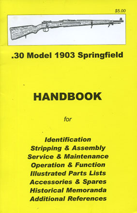 Skennerton Handbook for the .30 M1903 Springfield Rifle