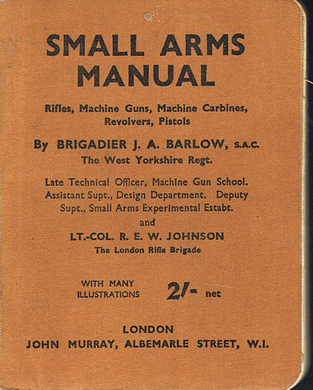 Small Arms Manual-Homeguard etc