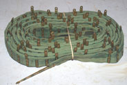 Tabbed 1943 dated ammo Belt, Vickers MG, 250 round,