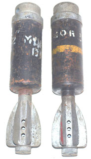Inert Mortar Ammunition