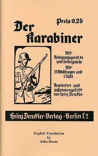 Translated German Weapons Manuals