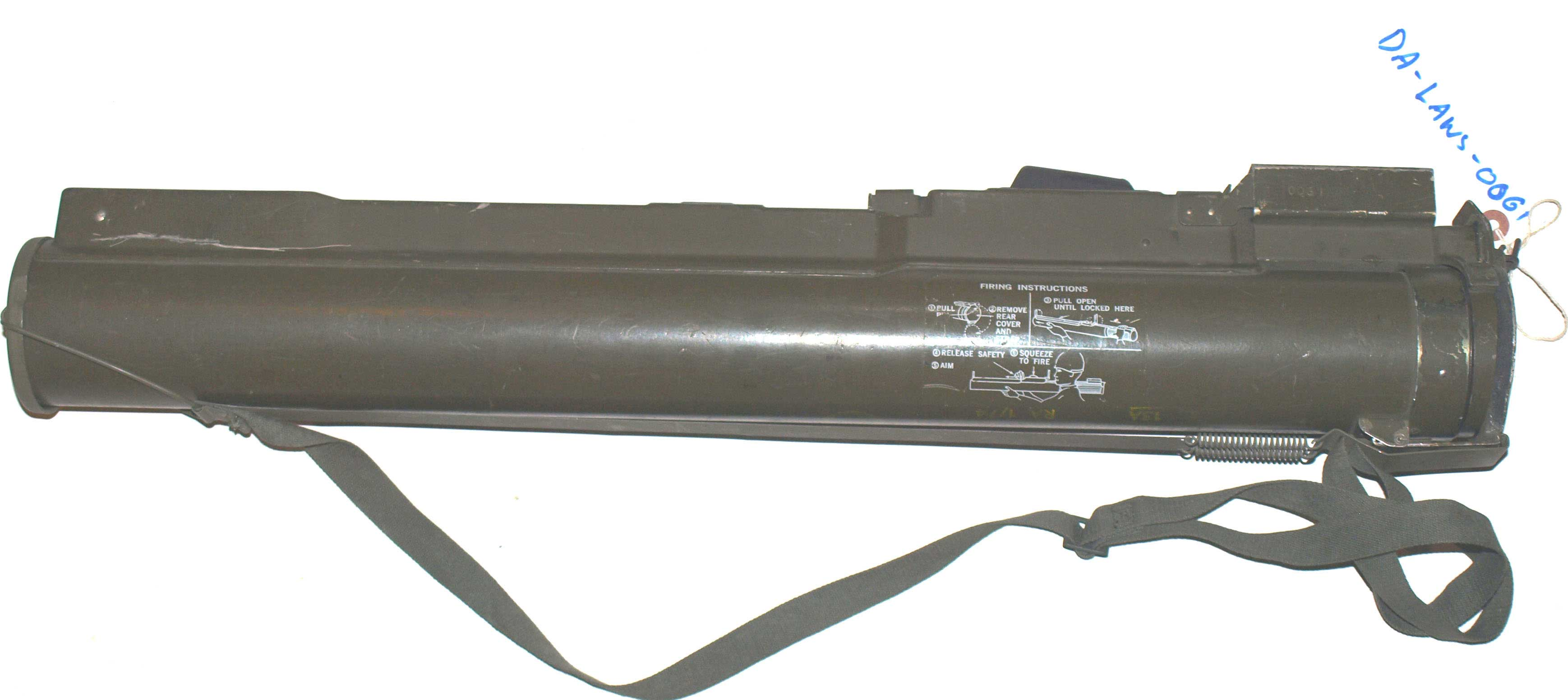M72 LAWS 66mm Rocket Launcher (DA-LAWS-0061)