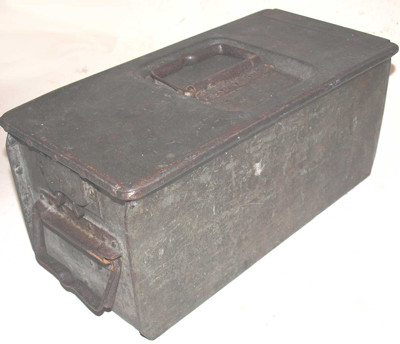 Mg08 Ammo Box The Gunner
