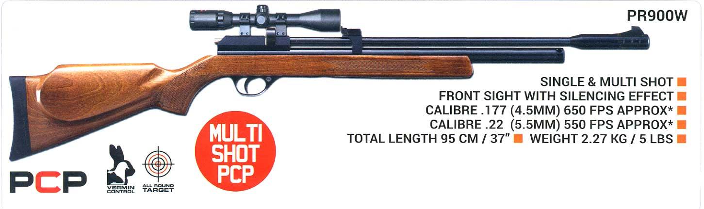 Smk Pr600w Pcp Air Rifle The Gunner