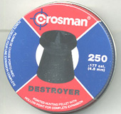 .177 Calibre Crosman Destroyer pellet £6.70