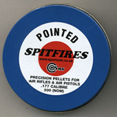 .177 Calibre Spitfire pointed pellet 5.25