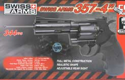 Swiss Arms 357 Revolver air pistol  £129.95