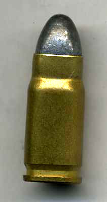 7.62x21 (.30 Luger) Inert Lead Round Nose