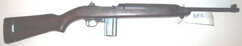 WW2 M1 Carbine-scarce unmodified (AF12) Price reduced from £925