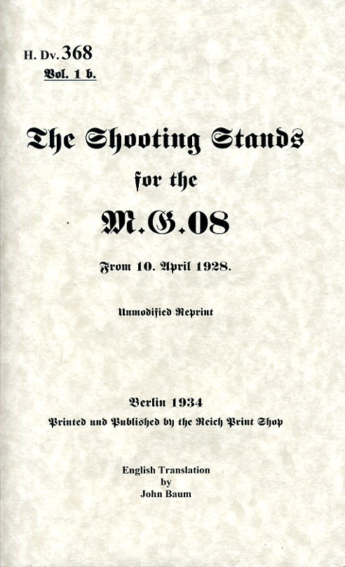 HDV368 volume 1 The shooting stands for the MG08