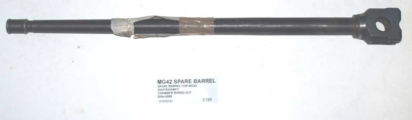 WW2 MG42 Deactivated Spare Barrel (SPBR0292)