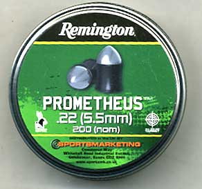 Remington Prometheus .22 Calibre pointed pellet Â12.95