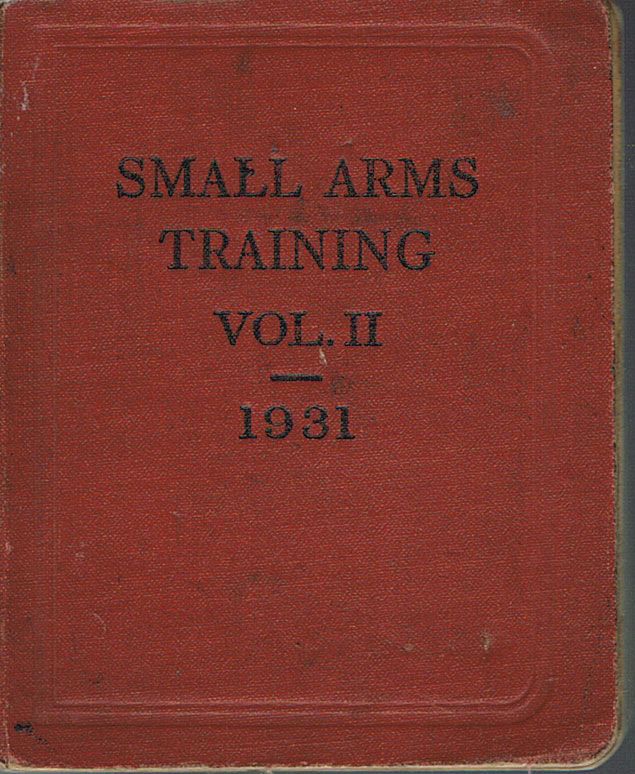 Small Arms Training Vol 2 1931-Covers Lewis Gun and Grenade/Rifle Grenade & Small Arms Anti-Aircraft