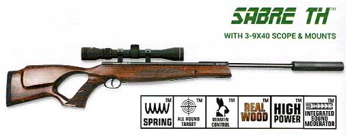 Air Rifles - The Gunner