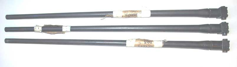 Vickers Spare Barrels-Deactivated