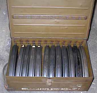 Boxed Bren Mags