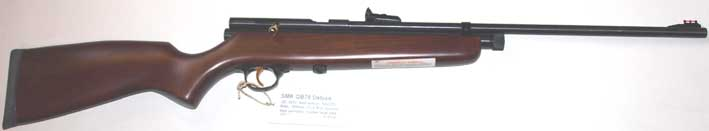 SMK  QB78DL CO2  .177 & .22 Air Rifle £129.95