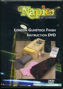 Napier London Gun Stock Finish DVD