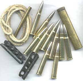 Lee Enfield WW1 Nickel Ammo Accessories Pack