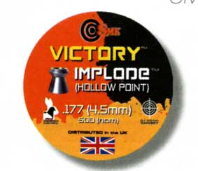 .177 Calibre Victory Implode Pellets £4.59