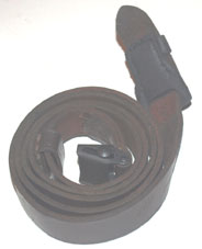 K98 Sling, genuine, brown with black tab