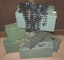 Ammo box and belts for MG34/42/53 PRICE REDUCED from Â52.95