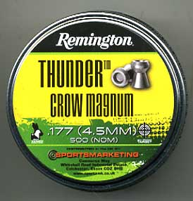 .177 Calibre Remington Thunder Crow Magnum £11.95