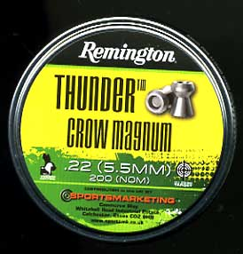 Remington .22 (5.5mm) Thunder Crow Magnum Â10.50