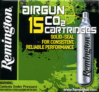 Remington CO2 12Gm Capsule 15 Pack £10.99