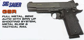 Sig Sauer GRS Air Pistol in .177 (4.5mm) BB £79.95