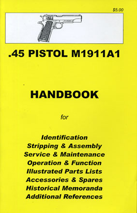 Skennerton Handbook for the Colt .45 M1911A1