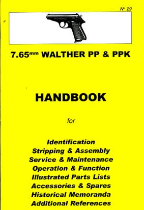 Skennerton Handbook for the Walther PP & PPK