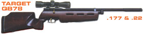 SMK QB78 Target CO2 Air RIfle .177 or .22 £179.95