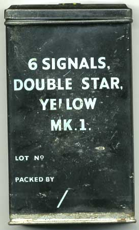Signal Flare Tin, WW2, genuine